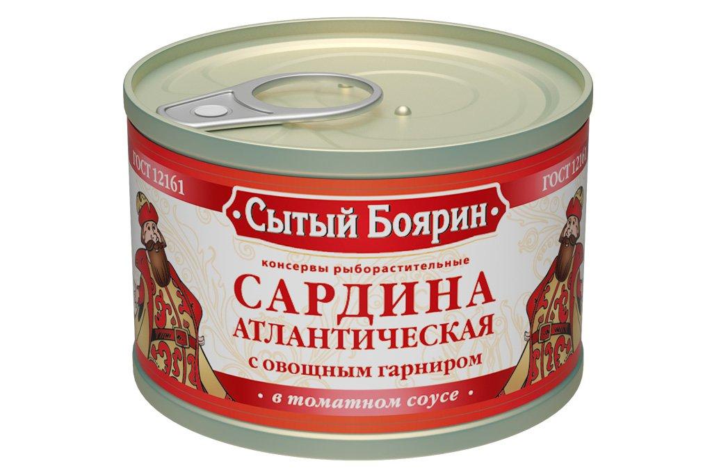 Кнсервированая рыба в томатном соусе