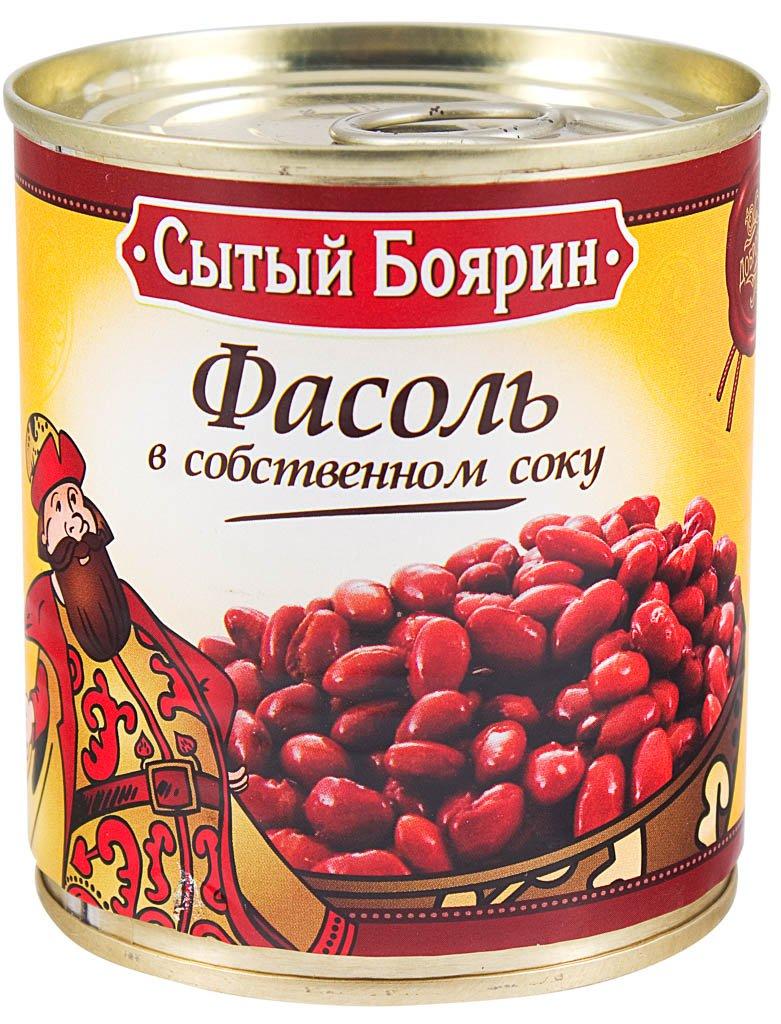 фасоль в собственном соку Сытый Боярин