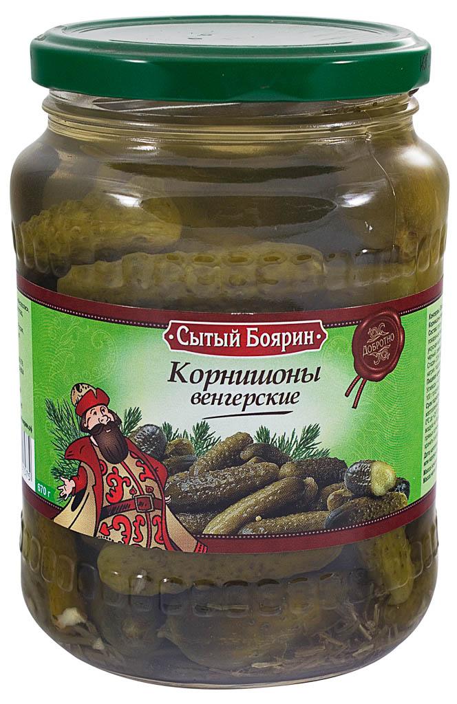 корнишоны венгерские Сытый Боярин
